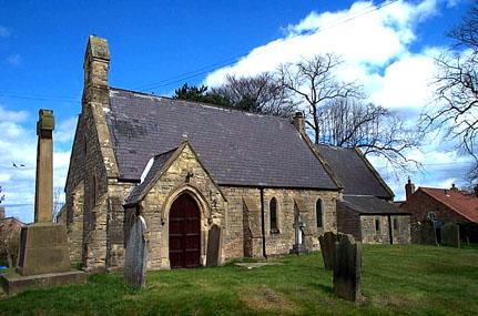 Sandhutton, North Yorkshire, St Leonard's Church and War Memorial