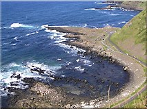 C9444 : Giant's Causeway by Kenneth  Allen