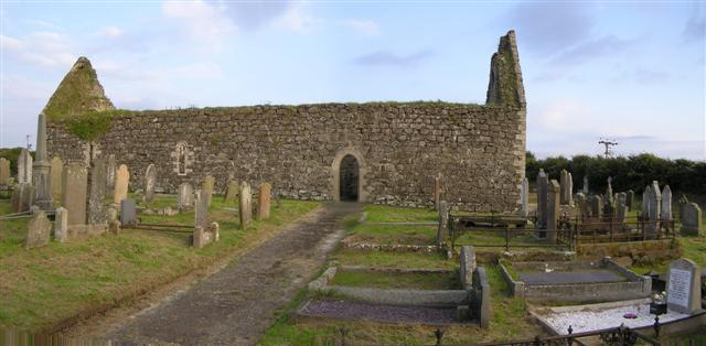 Ballywillan old church