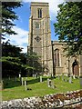 TL9568 : Stowlangtoft Church by Stephen McKay