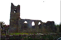 M1455 : Cong, Co Mayo, Ruins of the Old Church of ireland by Bill Henderson