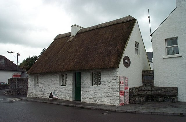 Cong, Co. Mayo:   'The Quiet Man' Cottage