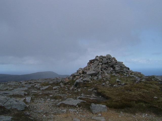 Ward Hill, Hoy - summit cairn