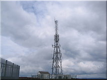 J0524 : NGW Television & Radio Tower. Summit of Camlough Mountain. by Peter Lyons