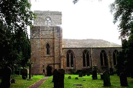 The Abbey of God and St Mary The Virgin, Blanchland, Northumberland
