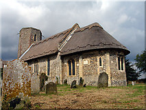 TM3898 : St Gregory's, Heckingham by Linda Bailey