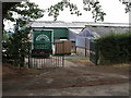 SO6564 : Farm buildings, Hanley Child by Philip Halling