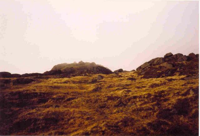 Summit of Slieve Foye