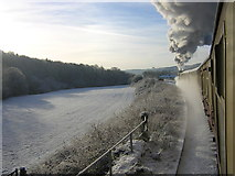 NZ8204 : North Yorkshire Moors Railway in the Esk Valley by Dave Taylor