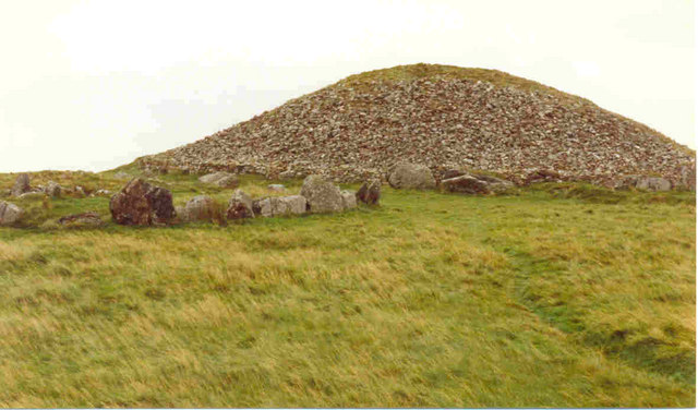 Summit of Slieve na Calliagh