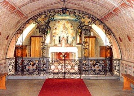 The Interior of The Italian Chapel, Lambholme, Orkney Islands