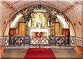 HY4800 : The Interior of The Italian Chapel, Lambholme, Orkney Islands by Bill Henderson