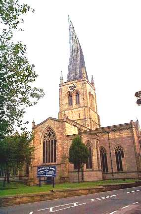 Chesterfield, The Church of St Mary & All Saints