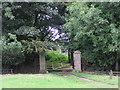 NZ1519 : Gate Entrance : Langton Grange by Hugh Mortimer