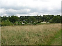 SE2853 : Harlow Carr - view towards the gardens through time by DS Pugh