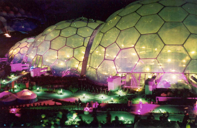 The Eden Project, at Night