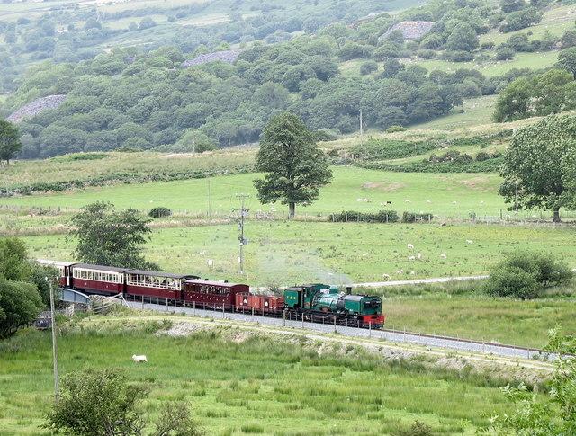 The Rhyd-Ddu Train