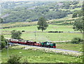 SH5356 : The Rhyd-Ddu Train by Eric Jones