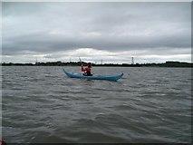 SD3444 : Kayaking up the Wyre Estuary by Iain Robinson