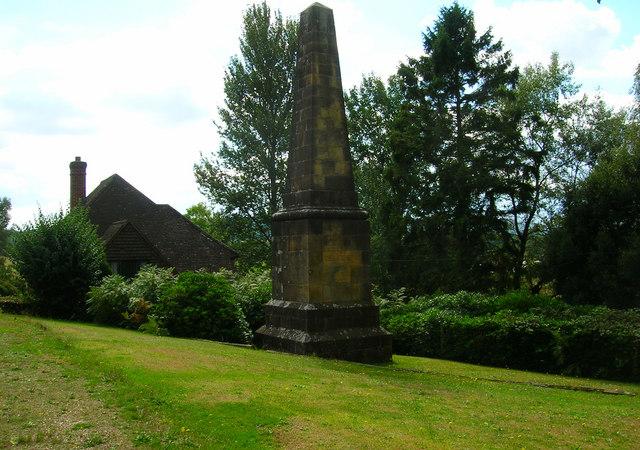 Obelisk, Cocking Causeway