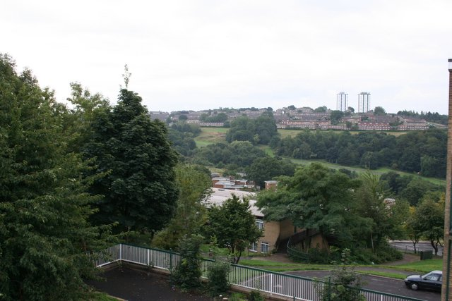 View across the Gleadless Valley