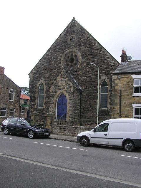 Wesleyan Chapel : Heighington  (dated 1872)