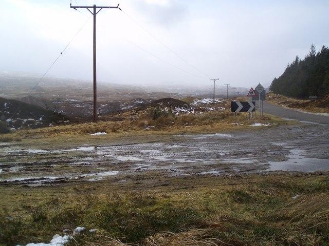 A Bleak Day in Altnaharra