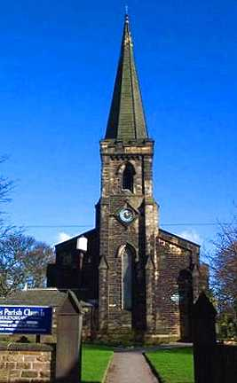 Birkenshaw, St Paul's Church