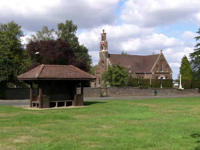 Shelter and Holy Trinity Church, Potten End
