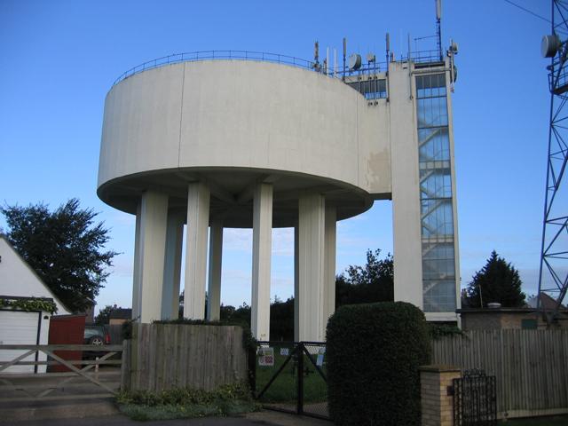Water tower, Haddenham, Cambs