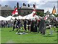 NZ4215 : Archery Display : Preston Park by Hugh Mortimer