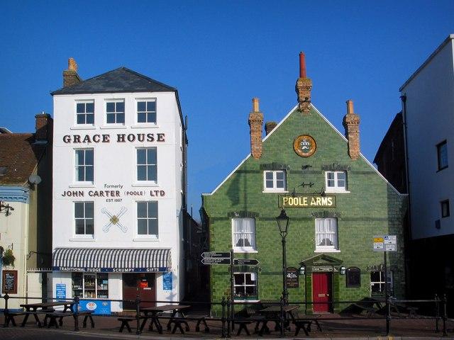Grace House & Poole Arms