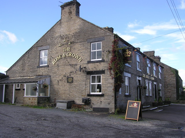 The Rose and Crown : Mickleton