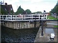 SK6139 : Holme Lock, River Trent by Geoff Pick