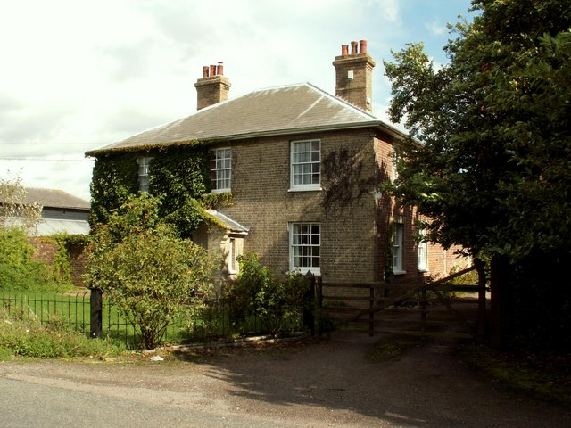 Farmhouse at Beak Farm, near Mount Bures, Essex