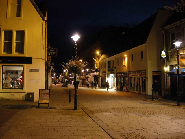 Fort William by Night
