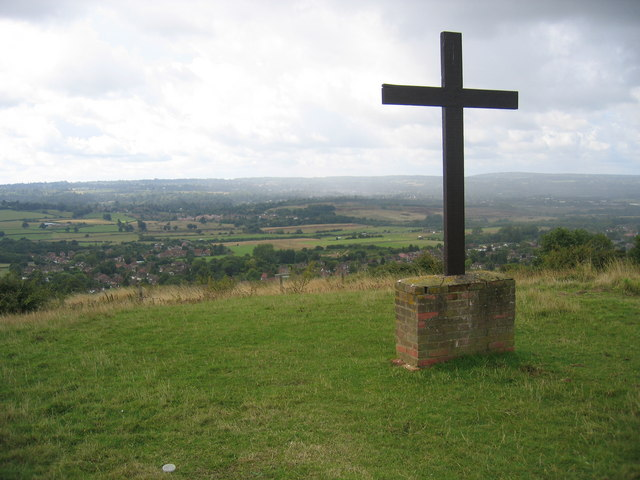 Cross on the downs above Kemsing