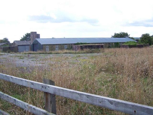 Old RAF Buildings near Stoke Heath