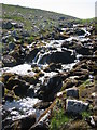NN9499 : Stream above Falls of Dee on Braeriach by Donald Thomas