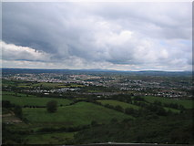 J0524 : Mourne Mountains from inside the ring of gullion. by Peter Lyons