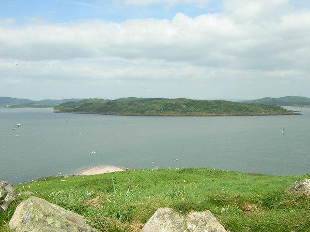 Moyl headland from Hestan Island