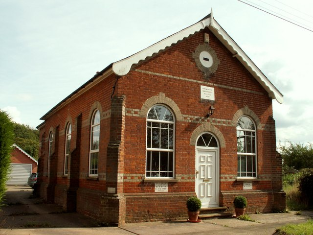 Primitive Methodist Chapel, Polstead Heath, Suffolk
