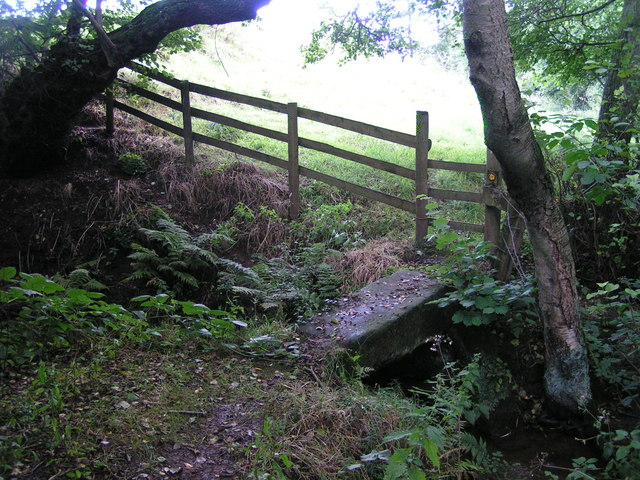 Clapper bridge, Bradley in the Moors