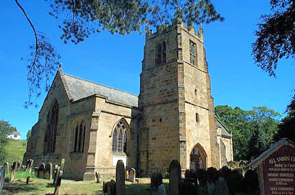 Image result for all saints hutton rudby