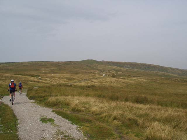 Looking towards Top Mere above Starbotton