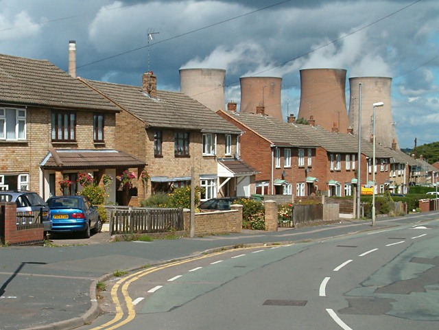 Semi-detached houses in Rugeley