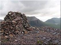 NG9763 : Summit Cairn, Meall a Ghiubhais by Chris Eilbeck