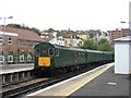 TQ8109 : Heritage traction, Hastings station by Stephen Craven