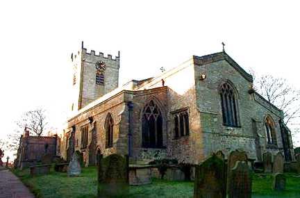 Middleham, The Collegiate Church St Mary and  St Alkelda
