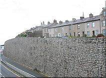 SH4862 : The Caernarfon Wall by Eric Jones